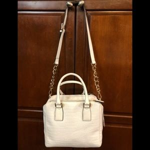 MarcFisher Kyra Triple Compartment Leather Satchel
